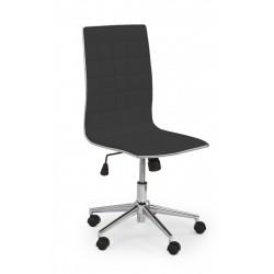 TIROL - fotel pracowniczy obrotowy czarny
