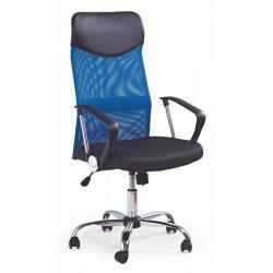 VIRE - fotel pracowniczy obrotowy niebieski