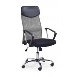VIRE - fotel pracowniczy obrotowy popielaty