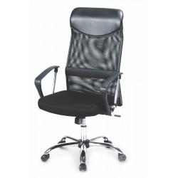 VIRE - fotel pracowniczy obrotowy czarny