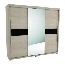 VEGAS - Szafa SEVROLL 245 x 222  z lustrem (V41)