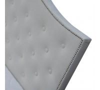 ALASKA Łóżko 160 bez pojemnika z materacem