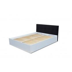 ROMA JR 1 BM - Łóżko z tapicerowanym wezgłowiem 160 x 200 cm