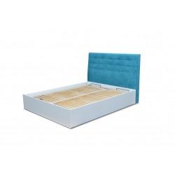 ROMA JR 3 BM - Łóżko z tapicerowanym wezgłowiem 160 x 200 cm
