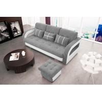 NINA 3 - Sofa z pufą