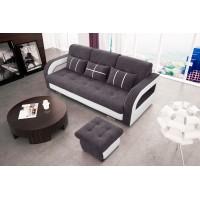 NINA 4 - Sofa z pufa