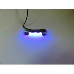 Oświetlenie LED klips niebieskie