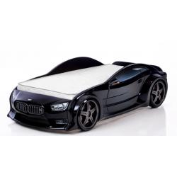 Evo Beta Black- 3D Łóżko dziecięce z materacem