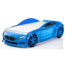 Evo Beta Blue - 3D Łóżko dziecięce z materacem