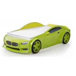 Evo Beta Green - 3D Łóżko dziecięce z materacem