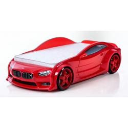 Evo Beta Red - 3D Łóżko dziecięce z materacem