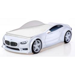 Evo Beta White  - 3D Łóżko dziecięce z materacem
