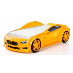 Evo Beta Yellow - 3D Łóżko dziecięce z materacem