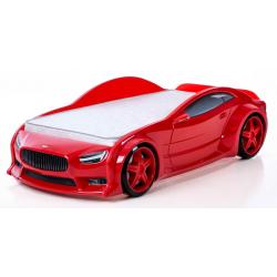 Evo Volt Red - 3D Łóżko dziecięce z materacem