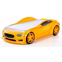 Evo Volt Yellow - 3D Łóżko dziecięce z materacem