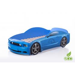 Light MG PLUS Blue - Łóżko dziecięce z materacem