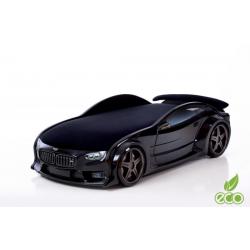 Neo Beta Black- 3D Łóżko dziecięce z materacem