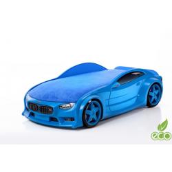 Neo Beta Blue - 3D Łóżko dziecięce z materacem