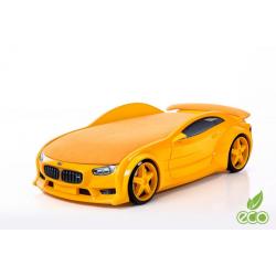 Neo Beta Yellow - 3D Łóżko dziecięce z materacem