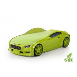 Neo Volt Green - 3D Łóżko dziecięce z materacem