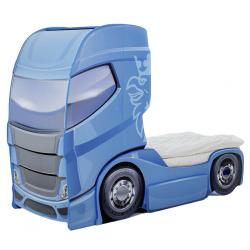 Truck 1 Blue  - Łóżko dziecięce z materacem
