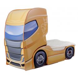 Truck 1 Mango - Łóżko dziecięce z materacem