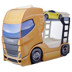 Truck 2 Mango - Łóżko dziecięce z materacami