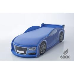 Uno Alfa S4 Blue - Łóżko dziecięce z materacem