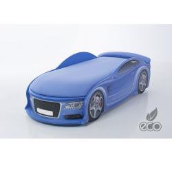 Uno Alfa S6 Blue - Łóżko dziecięce z materacem