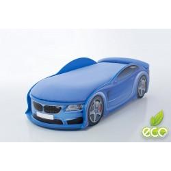 Uno Beta Blue - Łóżko dziecięce z materacem