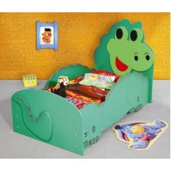 DINO DUŻY- Łóżko dziecięce z materacem