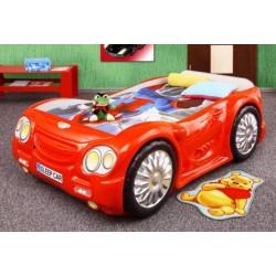 SLEEP CAR - Łóżko dziecięce z materacem