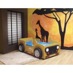 SAFARI - Łóżko dziecięce z materacem
