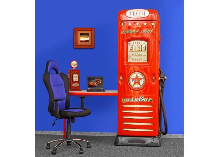 Szafa - Dystrybutor Wardrobe with desk OPEN CZERWONY  60 x 200