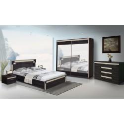 MODESTO - Sypialnia 2 z materacem z pojemnikiem