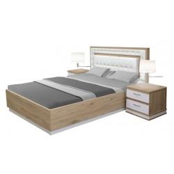 Veron 140 - Łóżko bez pojemnika z materacem