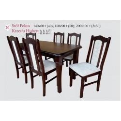 FOKUS 140x80   2x35  Stół pokojowy