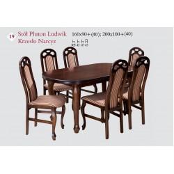 PLUTON LUDWIK 160x90   40  Stół Pokojowy