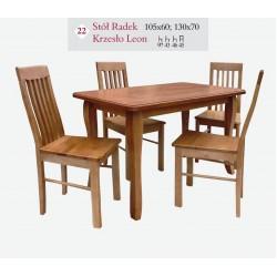 RADEK 105x60 Blat Drewno Stół