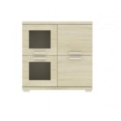 GOSIA GK4D Komoda 90 cm ze szkłem (2)